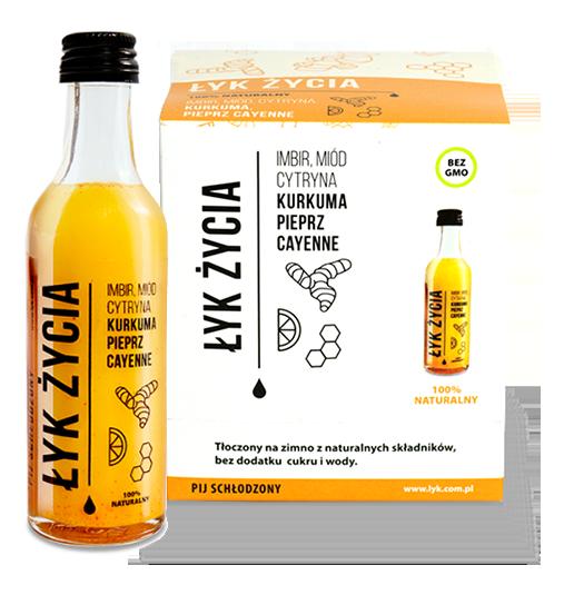 Łyk Życia 50 ml shot witaminowy (9szt.) 2