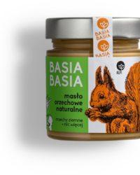 Basia Basia – Orzechowa Naturalna 210g