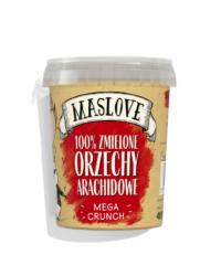 Maslove – Orzechy Arachidowe MEGA CRUNCH 400g