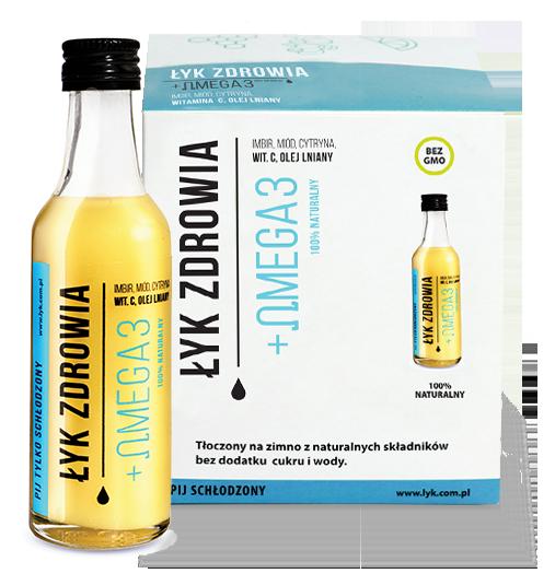Łyk Zdrowia + Omega3 50 ml szot witaminowy 1szt 2