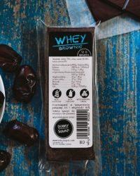Baton Proteinowy Whey Brownie