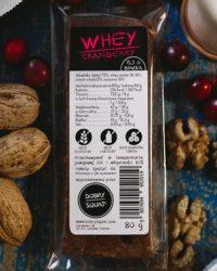 Baton Whey Proteinowy Cranberry