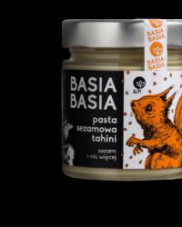 Basia Basia – Pasta Sezamowa Tahini 210g