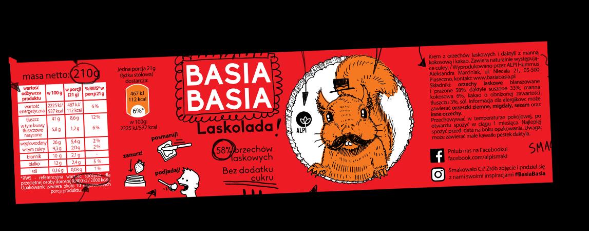 Basia Basia - Laskolada 210g 2