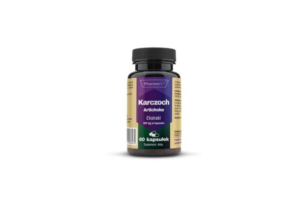 Pharmovit Karczoch Artichoke 4:1 400 mg 60 kaps. 1