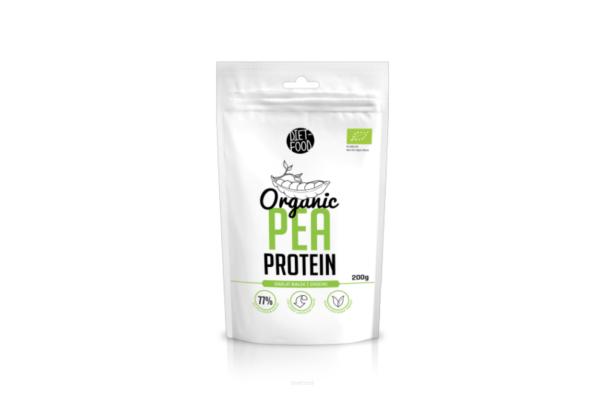 Diet-Food Bio Izolat Białek z Grochu 200g 1