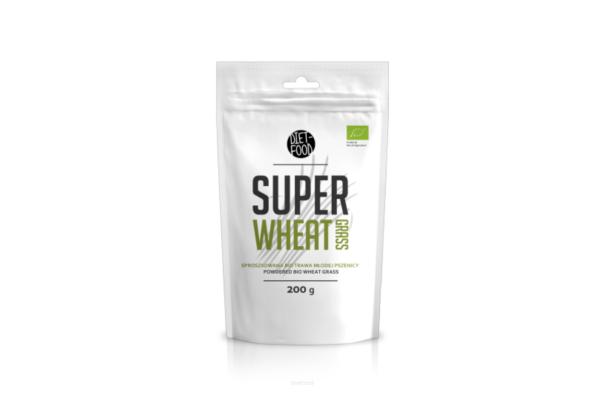 Diet-Food Bio Super Trawa Pszenicy 200g 1