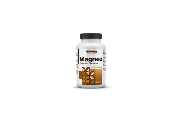 Pharmovit Magnez Cytrynian magnezu 180 tab. 1