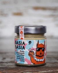 Basia Basia – Krem z Prażonych Orzechów Nerkowca z Kokosem i Solą Himalajską 210g