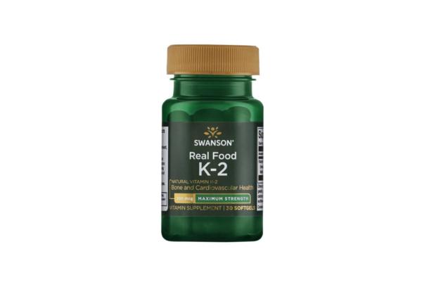 Swanson Vitamin K2 200 30 kaps. 1