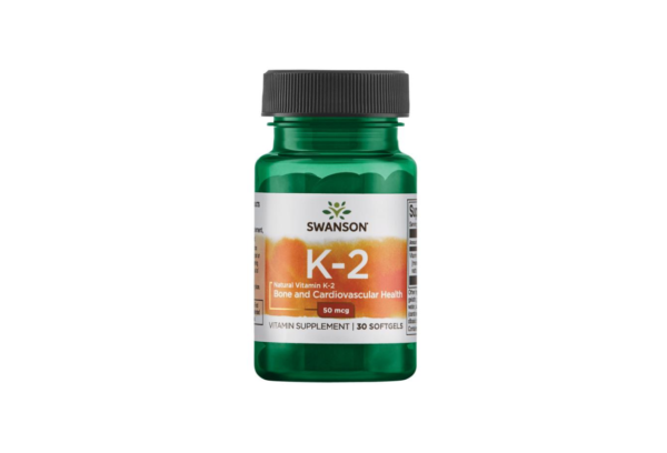 Swanson Vitamin K2 natural 30 kaps. 1
