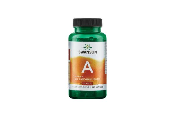 Swanson Vitamin A 250 kaps. 1