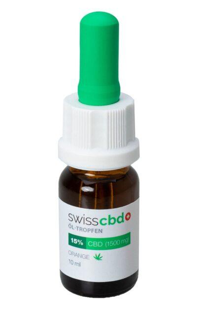 SWISS CBD OLEJEK POMARAŃCZOWY 15%