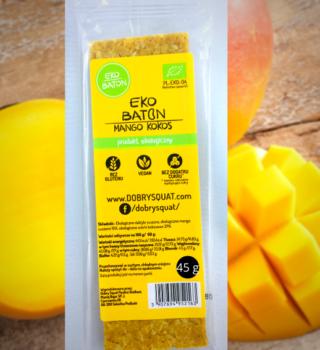 EKO BATON Kokos – Mango 45g